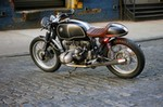 Production (Stock) BMW R65, BMW R65 - Bmw R65 Cafe Racer – boomcast.me Source: <a href='https://boomcast.me/bmw-r65-cafe-racer/' target='_blank'>https://boomcast.me/...</a>