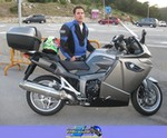 Production (Stock) BMW Unknown (BMW), 2009 BMW K1300GT a 2009 BMW  Streetbike parked on the side of a road