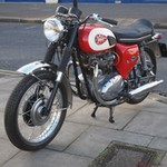 Production (Stock) BSA 650 Series, BSA 650 Series - 1970 BSA A65 Lightning Classic Vintage Motorcycle Red ... Source: <a href='https://motorcycles-for-sale.biz/sale.php?id=54608' target='_blank'>https://motorcycles-for-sale.biz/...</a>
