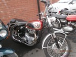 Production (Stock) BSA A10 Spitfire, BSA A10 Spitfire - BSA 650 a65 spitfire mk111 and supe Rocket 1958 running ... Source: <a href='https://motorcycles-for-sale.biz/sale.php?id=53374' target='_blank'>https://motorcycles-for-sale.biz/...</a>