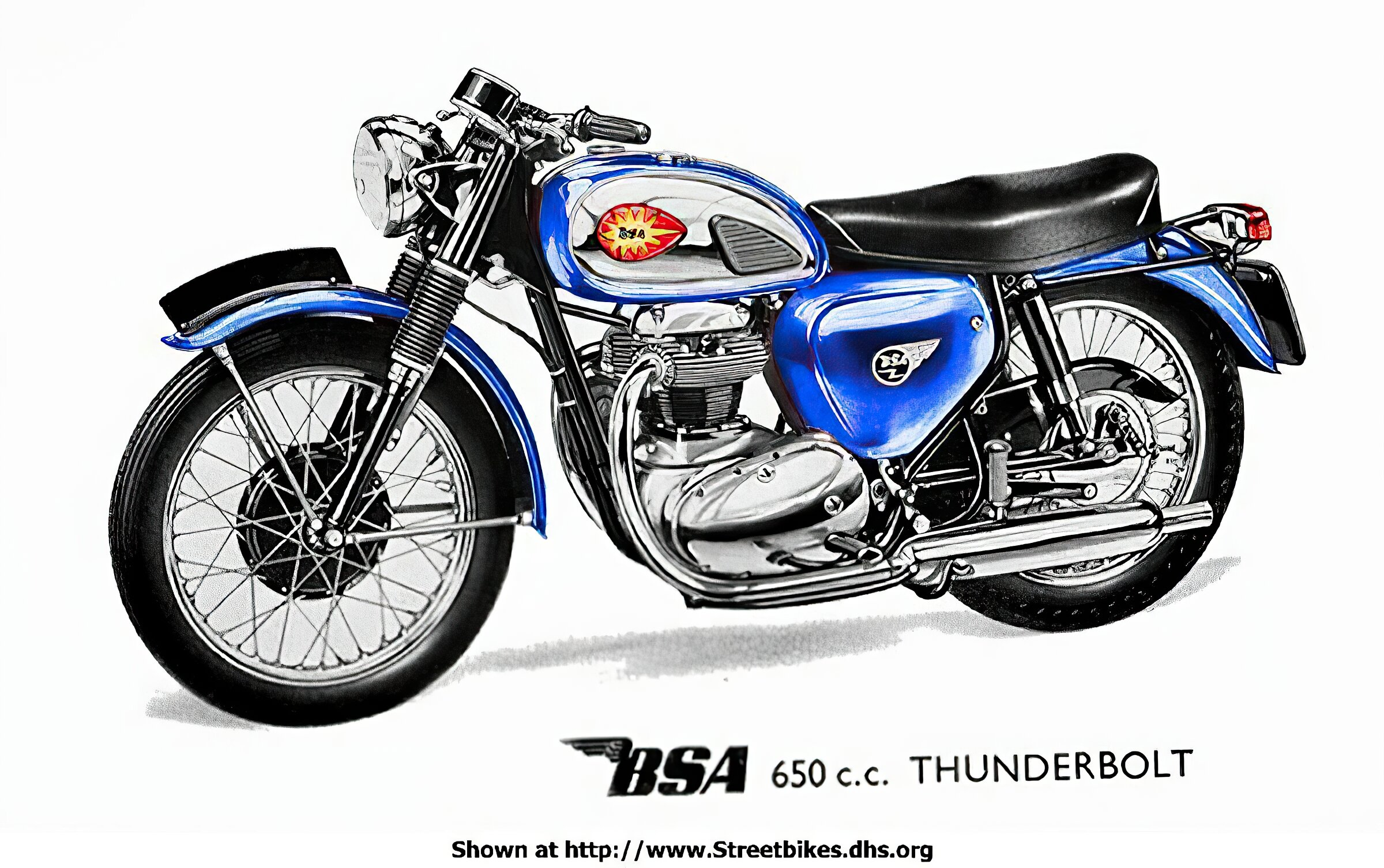 BSA 650 Series - ID: 732