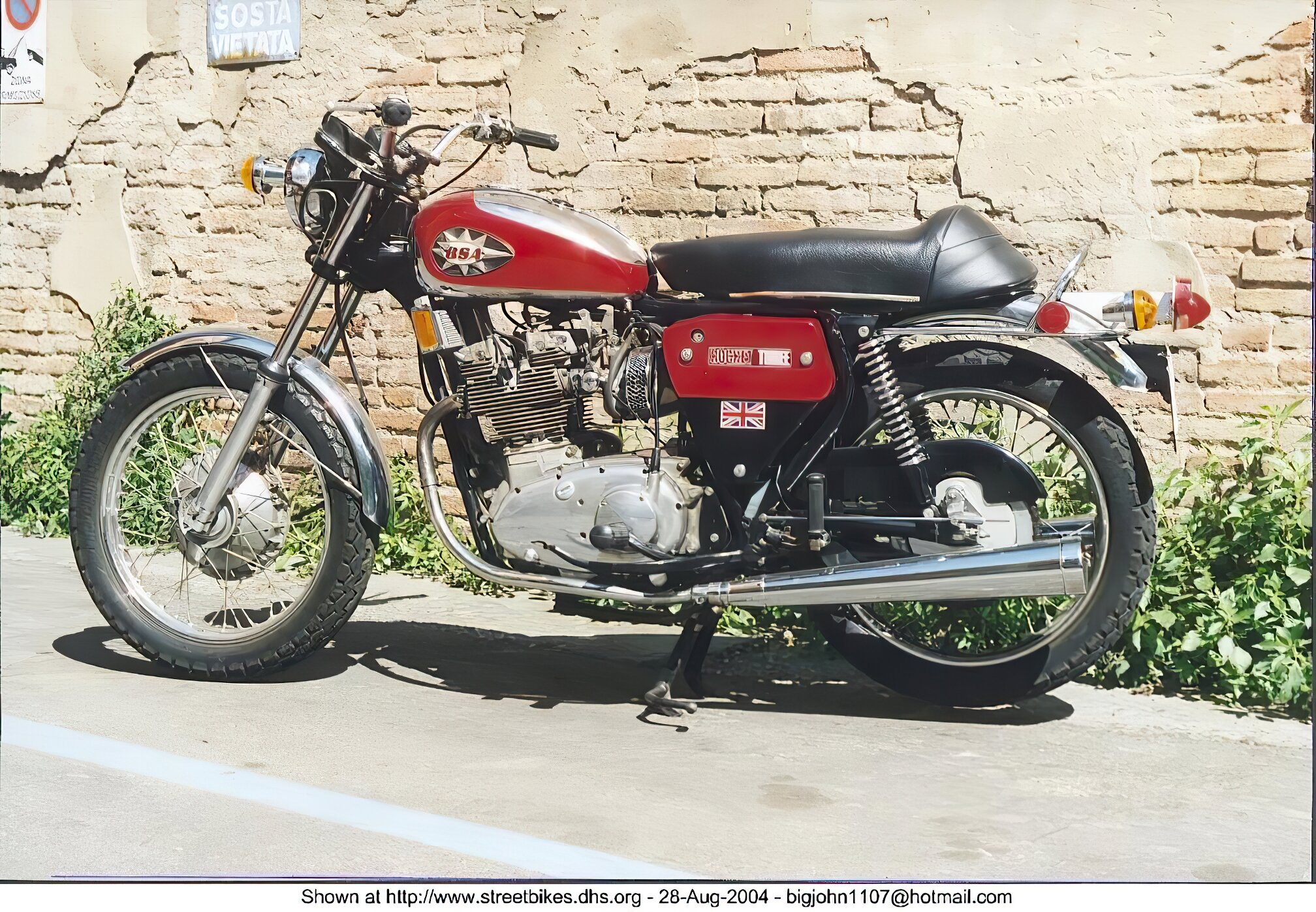 BSA 650 Series - ID: 3267