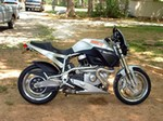 Production (Stock) Buell X1 Lightning, Buell X1 Lightning - My First Motorcycle - 2000 Buell X1 Lightning Millennium E ... Source: <a href='https://www.flickr.com/photos/joanna8555/3782802785/' target='_blank'>https://www.flickr.com/...</a>