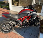 Production (Stock) Ducati Diavel, No description available.