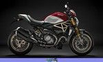 Production (Stock) Ducati Monster Series, Production (Stock)- 2018  Ducati  Monster Series Motorcycle a red and black 2018 Ducati Monster Series Streetbike