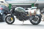 Production (Stock) Ducati Monster Series, Ducati Monster Series - Ducati Monster 1100 Evo Diesel with hepco and becker ... Source: <a href='https://www.pinterest.com/pin/501869952223075151/' target='_blank'>https://www.pinterest.com/...</a>