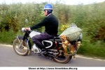 Humor Fanel Zundapp, This is the typical Portuguese Biker