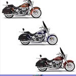 Production (Stock) Harley-Davidson FLS Models, Harley-Davidson FLS Models - 2014 Harley-Davidson FLSTNSE CVO Softail Deluxe Review Source: <a href='https://www.totalmotorcycle.com/motorcycles/2014models/2014-Harley-Davidson-FLSTNSE-CVO-SoftailDeluxe' target='_blank'>https://www.totalmotorcycle.com/...</a>