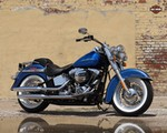 Production (Stock) Harley-Davidson FLS Models, Harley-Davidson FLS Models - FLSTN Softail® Deluxe | 2017 Motorcycles | Darling Downs ... Source: <a href='http://www.ddhd.com.au/collection/10/range/4/model/3510/2017-softail-deluxe' target='_blank'>http://www.ddhd.com.au/...</a>