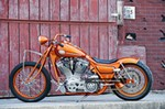 Production (Stock) Harley-Davidson FXR, Harley-Davidson FXR - 1994 Harley Davidson, Fxr, Bobber, Chopper, Custom ... Source: <a href='http://tenwheel.com/view/38048-1994_harley_davidson__fxr__bobber__chopper__custom_motorcycle__gangster_choppers.html' target='_blank'>http://tenwheel.com/...</a>