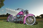 Production (Stock) Harley-Davidson Heritage, Harley-Davidson Heritage  - 2003 Harley-Davidson Heritage Softail - La Cabrona Source: <a href='https://www.lowrider.com/features/1503-2003-harley-davidson-heritage-softail-100th-year-anniversary/' target='_blank'>https://www.lowrider.com/...</a>