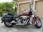 Production (Stock) Harley-Davidson Heritage, Harley-Davidson Heritage  - 2009 Harley-Davidson® FLSTC Heritage Softail® Classic (Red ... Source: <a href='https://www.chopperexchange.com/For-Sale/Harley-Davidson/Heritage_Softail_Classic/738449' target='_blank'>https://www.chopperexchange.com/...</a>