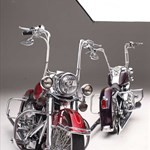 Production (Stock) Harley-Davidson Heritage, Harley-Davidson Heritage  - Heritage Softail & Softail Deluxe - Two Harleys, One Painter Source: <a href='https://www.lowrider.com/rides/motorcycles/harley-heritage-softail-softail-deluxe-two-harleys-one-painter/' target='_blank'>https://www.lowrider.com/...</a>