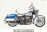 Production (Stock) Harley-Davidson Unknown (HD), 1968 FLH model