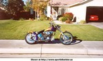 Production (Custom) Harley-Davidson Unknown (HD), My Ultra Groundpounder S&S Powered hardtail. Been a GREAT bike