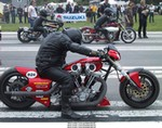 Racing Harley-Davidson Unknown (HD), Harly Drags in Sweden 2001