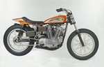 Production (Stock) Harley-Davidson XR-750, Harley-Davidson XR-750 - Harley XR 750! My dad has one in a display case from when ... Source: <a href='https://www.pinterest.com/pin/166422148701624614/' target='_blank'>https://www.pinterest.com/...</a>