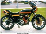 Production (Custom) Honda CB Models, 1977 Honda CB550F w/ IHI Turbo, Mikuni snow mobile carb, ARD Magneto, Shelby-Dowd wheels, Dunstall Clip-ons and much, much more.