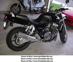 Production (Custom) Honda CBF Models, My old CB1000 musclebike.  Basically a CB919 without FI!  Was a great ride.