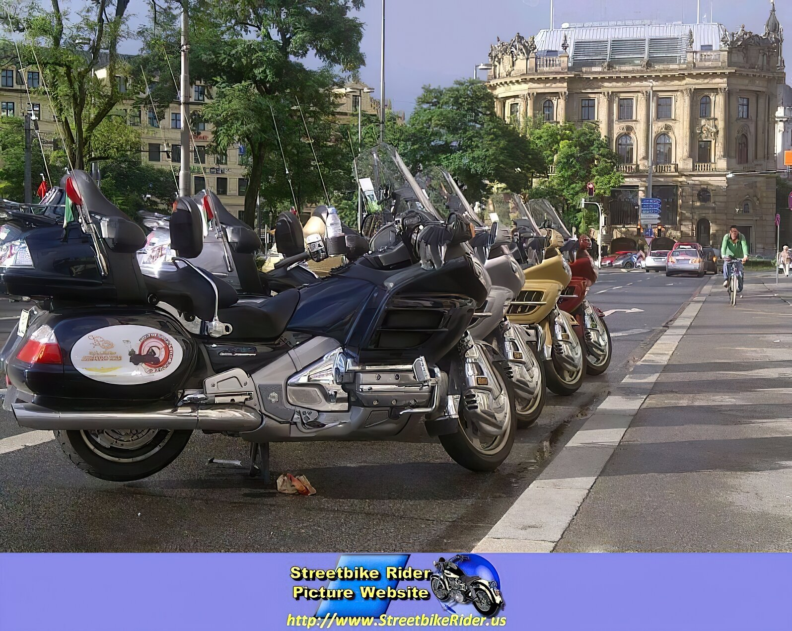 Honda GL/Goldwing Models - ID: 97814
