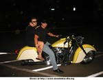 Production (Custom) Indian Chief Models, nice night for a ride........