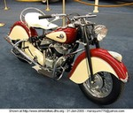 Production (Stock) Indian Chief Models, Uploaded for: manayunk770@yahoo.com 1946 INDIAN CHIEF MOTORCYCLE