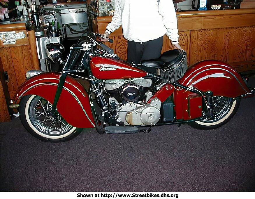 Indian Chief Models - ID: 136