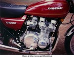 Production (Custom) Kawasaki Z Models, My first fast bike 1977 KZ1000 stock it was a P.O.S. but add a good quality 4/1 header, rejetted carbs, throw the oem air cleaner crap in the trash can ADD velosity stacks and you had one Kick *ss bike in 1977 !  The 1976 KZ900 and the 1977 KZ1000 both had the smaller  26mm carbs but that's childs play to change....