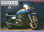 Production (Stock) Suzuki GS Models, Production (Stock)- Suzuki  GS1000 Motorcycle