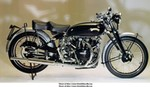 Production (Stock) Vincent Black Shadow, 1950 -Vincent - Black Shadow - 175