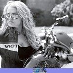 Women Victory Unknown (Victory), Hot babe with a cool Victory motorcycle!