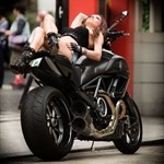 Women Ducati Diavel, ducati diavel hot woman 5 a person sitting on a Ducati Diavel Streetbike