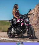 Women Yamaha Unknown (Yamaha), A woman sitting on a Yamaha MT07. a person sitting on a Yamaha  Streetbike