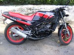 Production (Stock) Yamaha RD Models, Yamaha RD Models - Review of Yamaha RD 350 F 1990: pictures, live photos ... Source: <a href='http://loversofmoto.com/yamaha-rd-350-f-1990/' target='_blank'>http://loversofmoto.com/...</a>