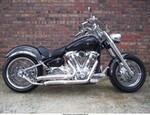 Production (Custom) Yamaha Roadstar, Custom made 18 rear wheel,Carbon fenders,Bubs pipes,dyno chip,you name it everything has been chromed.