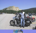 Production (Stock) Yamaha Roadstar, Bludog at Crazy Horse, August 2003