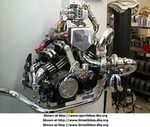 Engines Yamaha V-Max, blown V max motor talk about power between the legs!